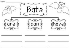 Bats, Bat facts and Writing on Pinterest
