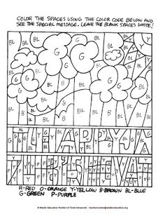 Color Your Own Jewish Calendar Wheels, Coloring Crafts