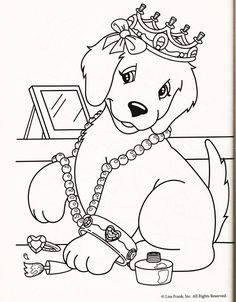 1000+ images about Coloring book dogs on Pinterest