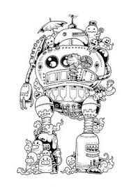 1000+ images about Doodle Invasion Coloring Book on