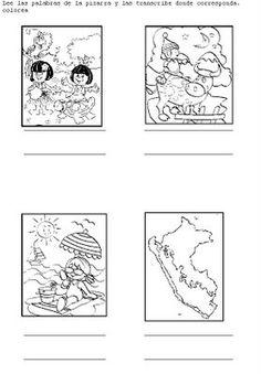 Cuentos de Don Coco: MAPA DE LAS REGIONES DEL PERÚ PARA