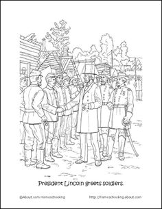 General Robert-E-Lee Kids Coloring Pages and Free