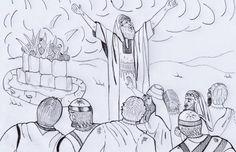 Free Visuals: Elisha and the Syrian army When Elisha is