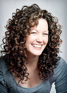 35 Long Layered Curly Hair Curly Girl Pinterest Thick Curly
