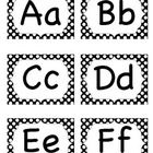 Alphabet letters for word wall. Contains 26 alphabet