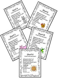 Spelling Packet/Templates for 15 Words (Homework/Center