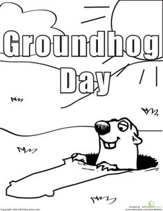 Groundhog day, Relay games and Activities on Pinterest