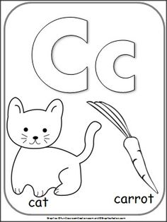 1000+ images about Letter C and number 3 week on Pinterest