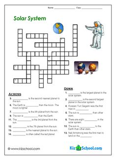 Solar System Reading Comprehension Worksheets (page 2