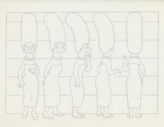 The Simpsons Original Model Sheets http://www.iamag.co
