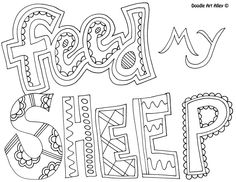 Coloring Pages for Kids by Mr. Adron: Garden Of Eden Bible