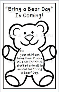 1000+ images about Teddy Bear Preschool Theme on Pinterest
