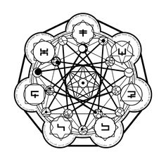 1000+ images about Transmutation Circle on Pinterest