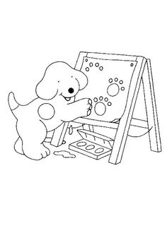 Color the School Supplies Coloring Page from TwistyNoodle