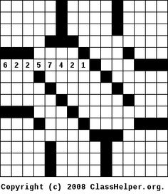 Number fill in puzzles require you to fill a crossword