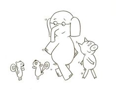 Elephant and Piggie Mad Libs. We did this after reading