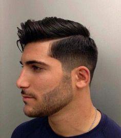 Double Hard Part Short Sides Men's Hair Pinterest Results