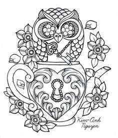 grown-up printable coloring pages, sounds like good