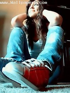 Attitude Girl With Guitar Wallpapers Download Girl Killer Attutude With Style Attitude Girl