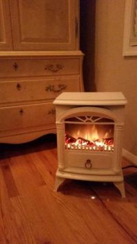 Now this is cozy! Electric Panoramic Quartz Infrared Stove ...