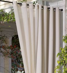1000 Images About OUTDOOR CURTAIN ROD On Pinterest Outdoor Curtain Rods Outdoor Curtains And