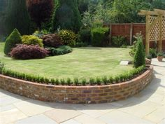 Brick Walls Landscaping Ideas Pictures Brick Retaining Wall