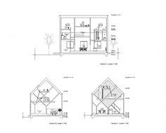 Floor Plan of R.M. Schindler's King's Road House, Los