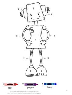 Free Build Up Summer Learning Robots Printables from 3