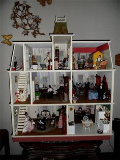 1000 Images About Dollhouse Interiors On Pinterest