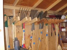 11 Garden Tool Racks You Can Easily Make Gardens Tool
