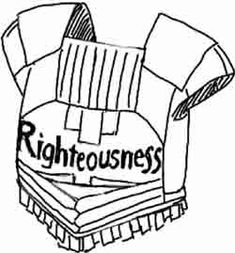 Breastplate Armor Of God Pages Coloring Pages
