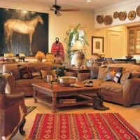 1000+ images about Southwestern style living room on ...