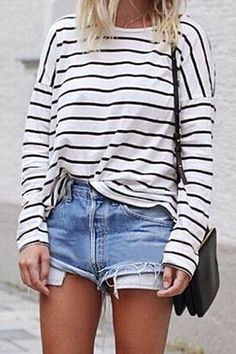Fashion Stripe Long