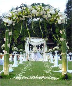 Wedding Ceremony Decoration Ideas Outdoor – Your Wedding Photo Blog