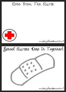 Professional School Nurse Evaluation Form #nurse #student