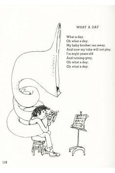 Shel silverstein, Silverstein and Poem on Pinterest