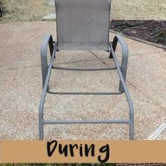 Recover Sling Patio Chairs Chair Stand Price Back Chairs! We Just Bought 4 Of These For $20 And They All Need To Be Recovered ...