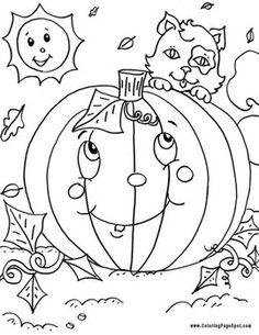 Candy Corn Trinity Sunday School Lesson Sketch Coloring Page