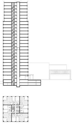 Mies van der Rohe (with Philip Johnson); Seagram Building