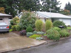 Pacific Northwest Landscape Ideas Northwest Style Front Yard