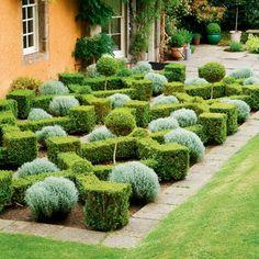 Designing A Formal Garden – Remember Symmetry More Pinteres