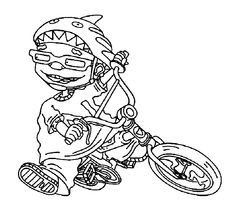 1000+ images about Rocket Power Coloring Pages on