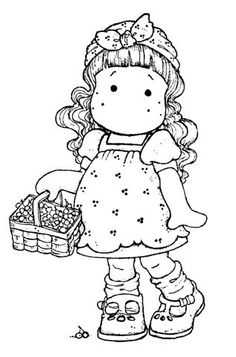12 Strawberry Shortcake Birthday Party Printable Coloring