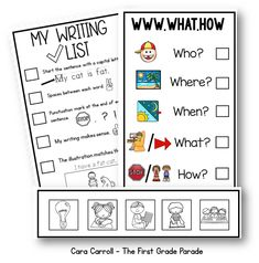 This download is the perfect checklist for kids to use to