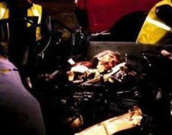 Image result for princess diana car crash body