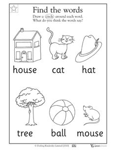 1000+ images about Toddler worksheets on Pinterest