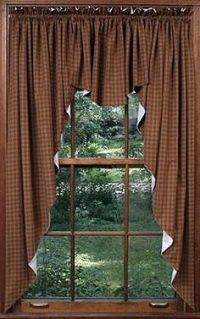 Rustic Curtains on Pinterest | Curtains, Burlap Curtains ...