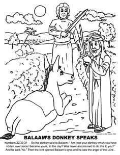 1000+ images about Bible: Balaam and the Talking Donkey on