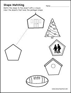 Colour the shapes and count how many times the shapes are