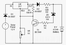 This 6V to 220V inverter Circuit schematic is one of the